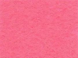 CE800300/0060- 10 vellen viltlapjes viscose van 20x30cm en 1mm dik roze