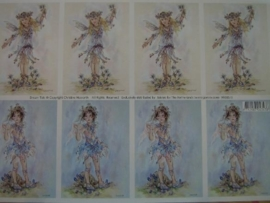 kn/132- A4 knipvel AANBIEDING fairy poppets 3