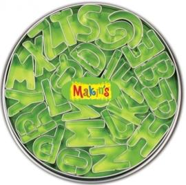 CE117918/7001- Makin`s clay uitstekerset in blik alfabet