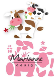 CE115638/1426- Marianne Design collectables Eline's koe 14.5x20.5cm