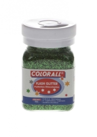 CE801502/0120- Colorall glitter groen 150ML / 95gram