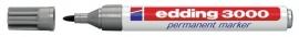 CE393000/0012- Edding-3000 permanent marker met punt van 1.5-3mm grijs