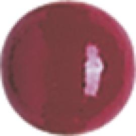 6032 184- 15 x houten kralen kersenrood van 15mm