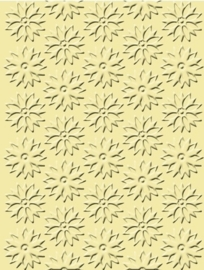 "1856 9027- Craft Concepts embossing stencil ""spring flowers"" 11x14.5cm"
