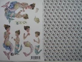 kn/571- A4 knipvel AANBIEDING fairy poppets 86/3