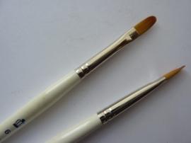 PS116- nylon penseel tong royal gold -6-
