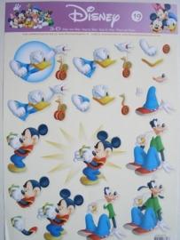 kn/611- A4 knipvel Disney nr.19