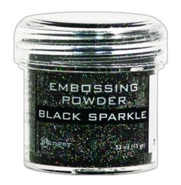 CE306320/7460- Ranger embossing powder 34ml - black sparkle