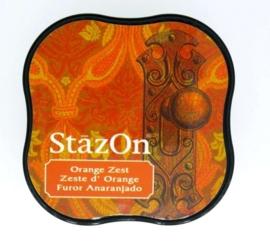 CE132021/4071- Stazon inktkussen midi orange zest SZ-MID-71