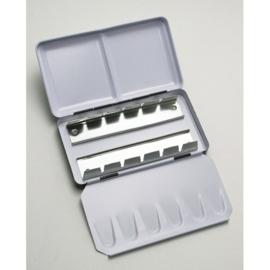 CE326256/3012- Sennelier L'aquarelle lege verpakking voor 12 halve napjes