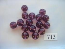 glaskralen 10mm rond 713