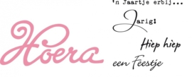 CE115638/1348- Marianne Design collectables Hoera