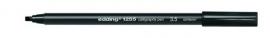 CE391255/3501- Edding-1255 kalligrafie pen punt 3.5mm zwart