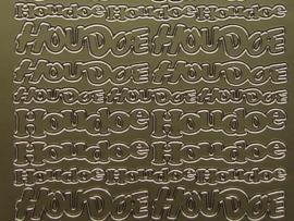 st273- divers houdoe goud 10x20cm