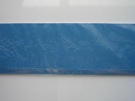 08179- 10 x langwerpige kaarten van Colorcore 9.7x31.5cm turqoise SPECIALE AANBIEDING