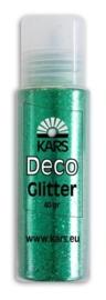 118574/0004- Kars deco glitter groen 40gram