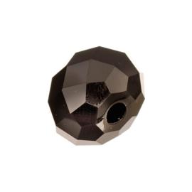 KN2210 380- swarovski kristal kraal briolette 18mm jet black