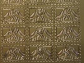 ST-213- trouwringen/zegel goud 10x20cm