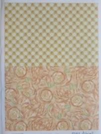 kn/728- A4 3D knipvel Mary rahder achtergronden no.2448