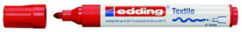 CE394500/0002- edding-4500 textielmarker 2-3mm punt rood