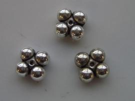 metalen tussenstukjes 5x10mm 117465/0621