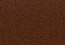 008441/0588- vilten lap van 4mm dik extra sterk 30x45cm donkerbruin