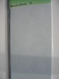 000136- 3 x kabinetkaarten + enveloppen 10.5x21.5cm