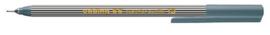 CE390055/0012- edding-55 fineliner met punt van 0.3mm grijs