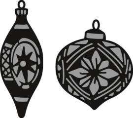 CE115639/1379- Marianne Design craftables Tiny's ornaments baubles CR1379
