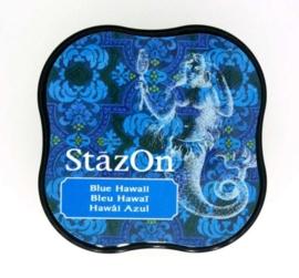 CE132021/4065- Stazon inktkussen midi blue Hawaii SZ-MID-65
