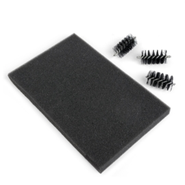 115666/0514- Sizzix accessory die brush & foam pad for wafer thin dies - replacement