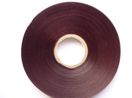 AZ.139- 100 meter decorband van 10mm breed aubergine OPRUIMING OP=OP