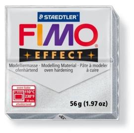 CE610303/2081- fimo effect 56gr metallic zilver -81