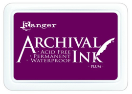 CE306010/1499- Ranger archival ink pad - plum