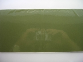 08156- 5 x luxe vierkanten kaarten linnenstructuur 13.5x13.5cm mosgroen SPECIALE AANBIEDING