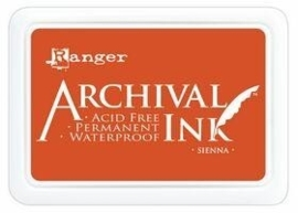 Ranger Archival ink sienna