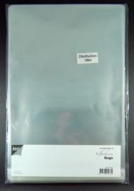 JOY8001/0354- 100 stuks kaartenzakjes zelfklevend 220x305mm