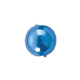 45 x ronde waxparels in een doosje 6mm blauw - 6067 352