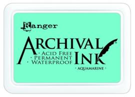 CE306010/0577- Ranger archival ink pad - aquamarine