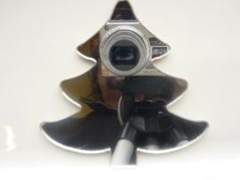 006000E- zelfklevend spiegeltje ca. 9x9cm denneboom OPRUIMING