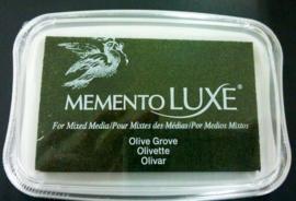 CE132020/5708- Memento Luxe inktkussen olive grove