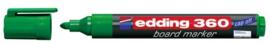 CE390360/0004- edding-360 boardmarker met punt van 1.5-3mm groen