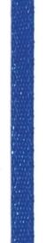 006302/0235- 4.5 meter satijnlint van 10mm breed op een rol blauw