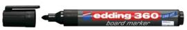 CE390360/0001- edding-360 boardmarker met punt van 1.5-3mm zwart