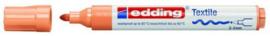 CE394500/0016- edding-4500 textielmarker 2-3mm punt lichtoranje