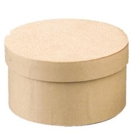 8735 748- 6 stuks kartondoos natuur 17.2x10cm