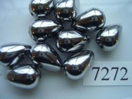 10 stuks licht metalen kralen van 18x11.5mm 7272