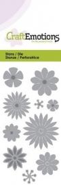 CE115633/0168- Craft Emotions Die 5x10cm bloemenmix
