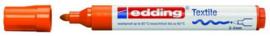 CE394500/0006- edding-4500 textielmarker 2-3mm punt oranje