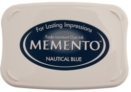 CE132020/4607- Memento inktkussen nautical blue